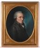 """Johann Heinrich SCHRÖDER - Zeichnung Aquarell - """"Portrait of an elderly gentleman"""" pastel, ca.1790"""