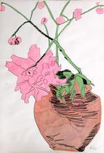 安迪·沃霍尔 - 版画 - Flowers (Hand Colored)