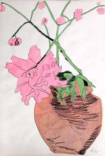Andy WARHOL - Print-Multiple - Flowers (Hand Colored)