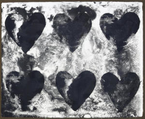 Jim DINE, Dutch Hearts