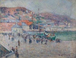 Gustave LOISEAU, fecamp harbor