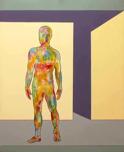 Renato MAMBOR - Pintura - Uomo succoso
