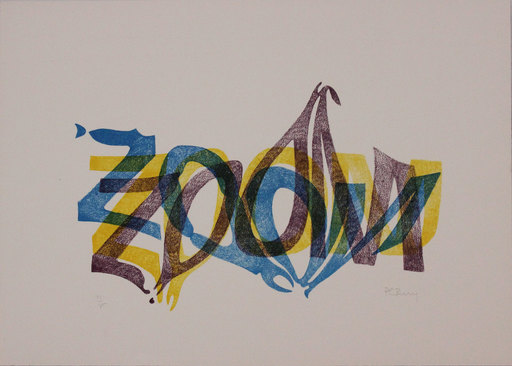 Pol BURY - Estampe-Multiple - Zoom
