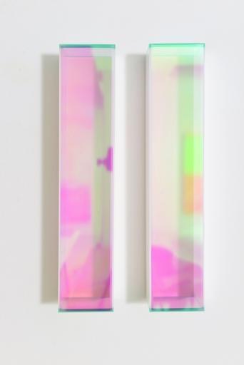 Regine SCHUMANN - Scultura Volume - Colormirror rainbow glow after green milan
