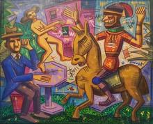Ronaldo ENRIGHT - Painting - entonces