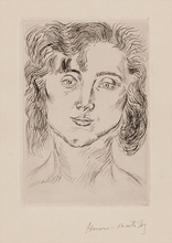 Henri MATISSE (1869-1954) - Mlle. M. M. (Mademoiselle Marguerite Matisse)
