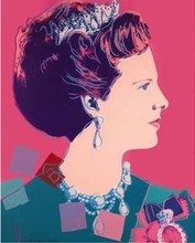 Andy WARHOL (1928-1987) - Queen Margrethe II of Denmark, from Reigning Queens
