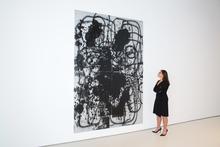 克里斯托弗·伍尔 - 绘画 - Untitled (Not for Sale)