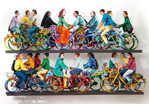 David GERSTEIN - Escultura - City Riders B