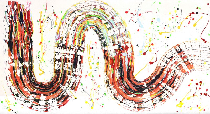 Sumit MEHNDIRATTA - Pittura - Composition No.126