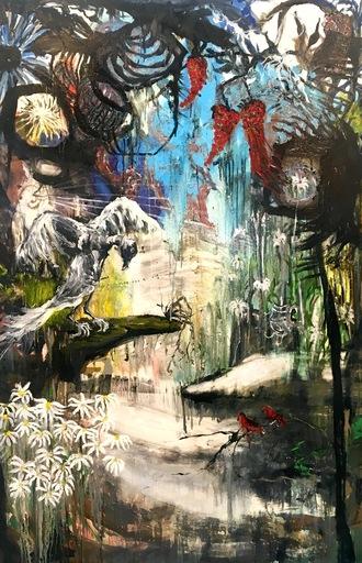 """Emmanuelle RENARD - Pittura - """"In Silvam"""""""