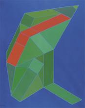 Achille PERILLI - Peinture - L'acuto dilemma