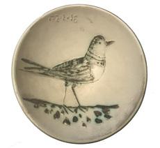 Pablo PICASSO - Ceramic - Oiseau, coupelle