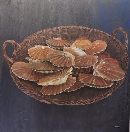 Claudine PICARD - Pintura - Coquilles