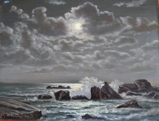 Roger DE LA CORBIERE - Pintura - sans titre