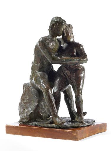Arturo MARTINI - Sculpture-Volume - Gli Amanti