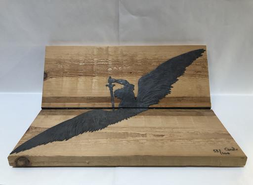Mario CEROLI - 雕塑 - L'angelo vendicatore
