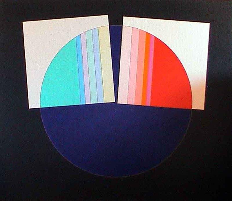 Eugenio CARMI - Painting - Gli occhi del veggente