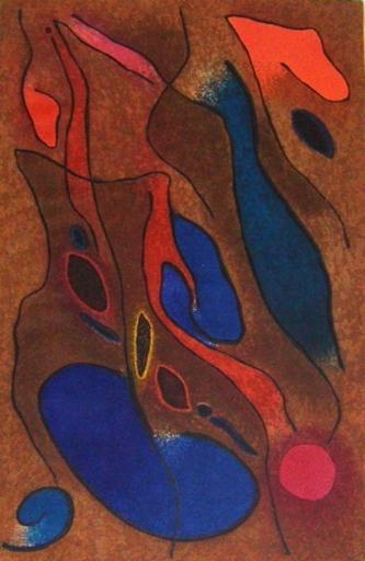 Gustave SINGIER - Grabado - Baigneuses méridiennes
