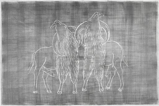 Alain HUCK - Disegno Acquarello - Animal