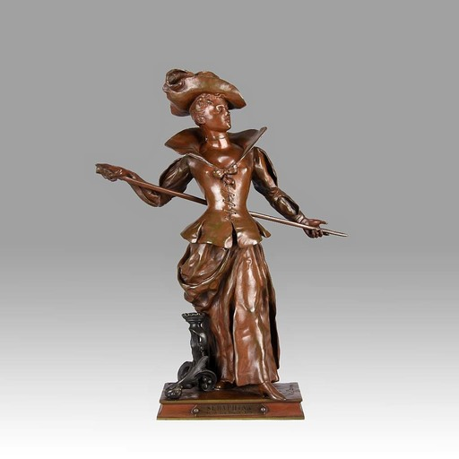 Charles VITAL-CORNU - Sculpture-Volume - Seraphina