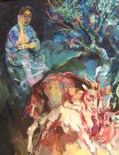 Walter SPITZER - Pintura - Jardin d'Eden