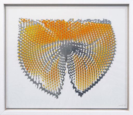 Heinz MACK - Druckgrafik-Multiple - Lichtwirbel
