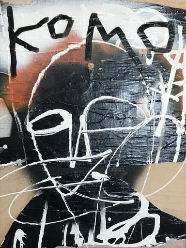 KOKIAN - Peinture - Komo