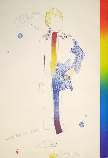 Jim DINE - Print-Multiple - Dorian Gray, Rainbow