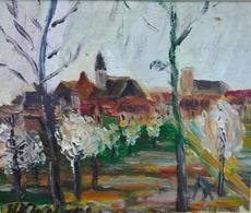 Henri Victor WOLVENS - Painting - Boer aan het werk
