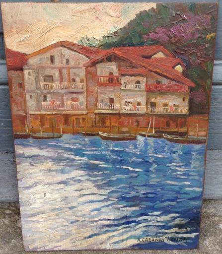 Angel CABANAS OTEIZA - Pintura