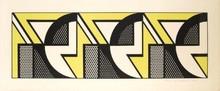 Roy LICHTENSTEIN - Print-Multiple - Repeated Design