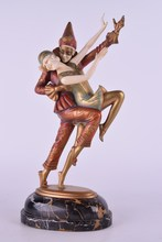 Otto POERTZEL - Escultura - Opposite.Columbine and Harlequin