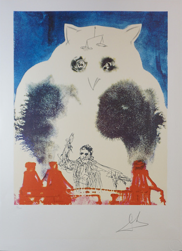 Salvador DALI - Stampa-Multiplo - The Lawyer