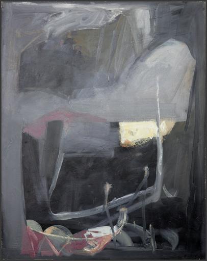 Henri CHARIOT - 绘画 - Landscape of the night
