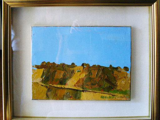 Ennio MORLOTTI - Peinture - Colline a Bordighera