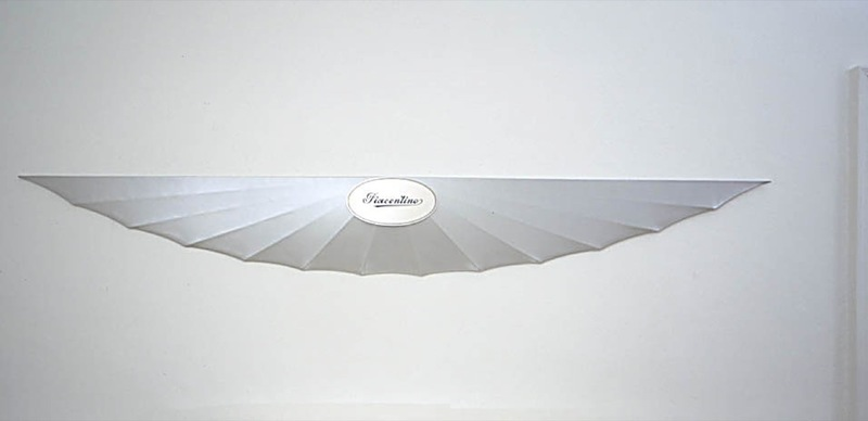 Gianni PIACENTINO - Sculpture-Volume - Pearl Wall Wing