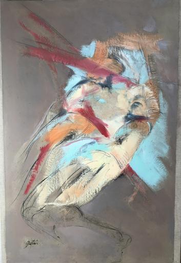 Alain GESTIN - Peinture - Avec elle