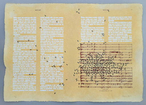 Emilio ISGRO - Druckgrafik-Multiple - Mozart