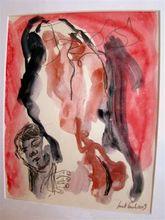 Michel SURET-CANALE - Drawing-Watercolor - MSC09