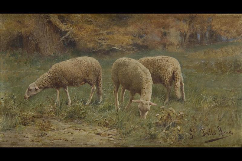 Giovanni DELLA ROCCA - Gemälde - Landscape