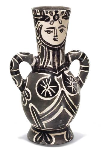 Pablo PICASSO - Ceramiche - Vase à deux anses