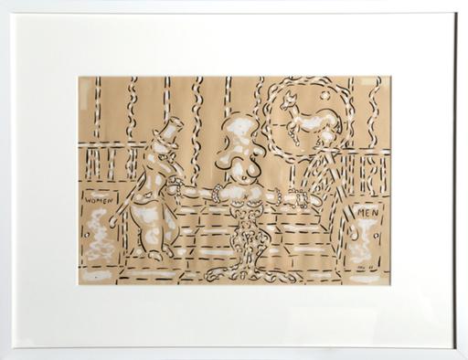 William Nelson COPLEY - Disegno Acquarello - Women ~ Men