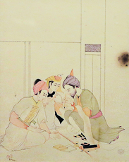 Asit Kumar HALDAR - Drawing-Watercolor - Untitled