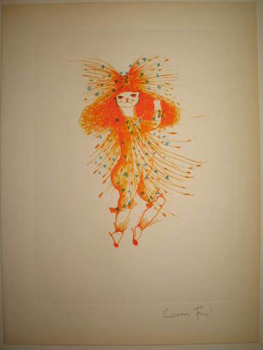 Leonor FINI - 版画 - La danse du chat.