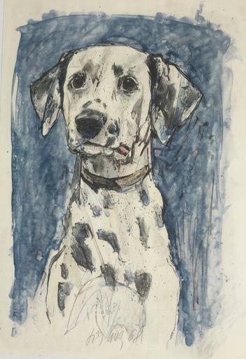 Fritz Rudolf HUG - Print-Multiple - Chien dalmatien