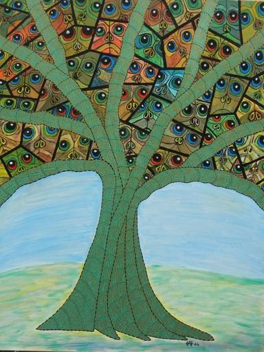 Annemarie HOFFMANN - Painting - Bemopster Baum    (Cat N° 5843)