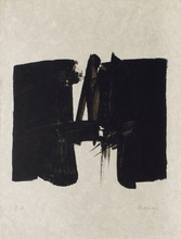 André MARFAING - Estampe-Multiple - Composition 112