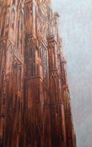 Patrick BASTARDOZ - Pintura - Façade Cathédrale