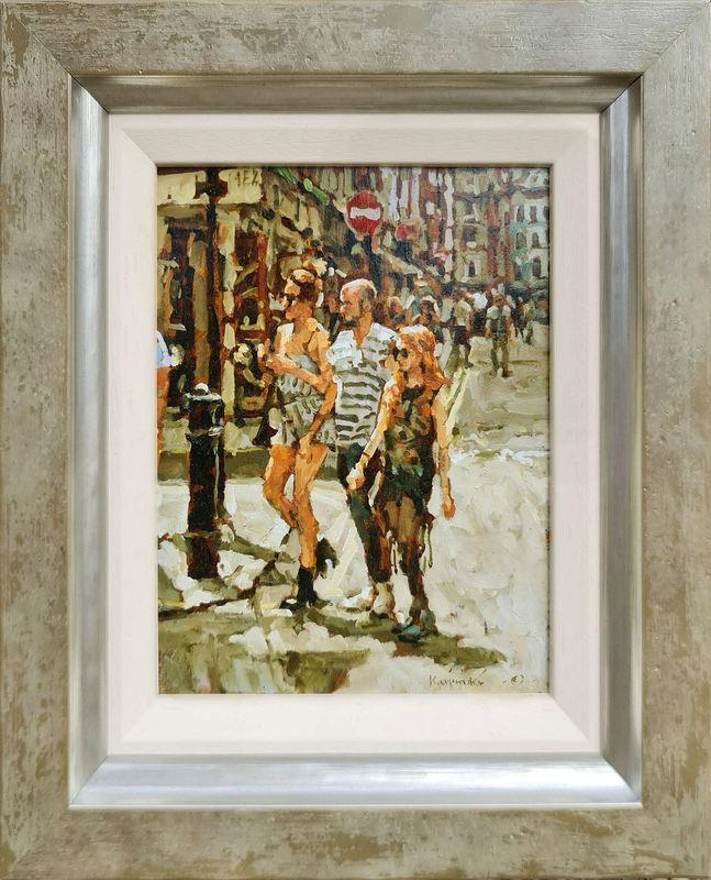 Tony KARPINSKI - Painting - Friends (Miniature)